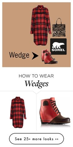 """The 1964 Premium Wedge from SOREL: Contest Entry"" by carol-c01 on Polyvore featuring SOREL, Department 5, DANIELAPI and sorelstyle"