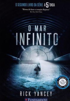 The Infinite Sea (Fifth Wave, Book by Rick Yancey. The direction of this second book left me disappointed. My final opinion will depend on the third and final book. Still worth a read. The 5th Wave Book, The 5th Wave Series, The Fifth Wave, The Book, Book 1, Ya Books, I Love Books, Great Books, New York Times