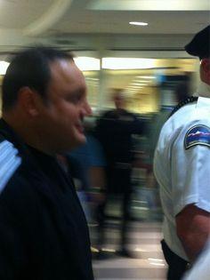 Mall Cop Kevin James at Mall of America, Matt's