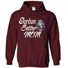 Gordon Setter Mom - #tshirt recycle #hoodie casual. LIMITED AVAILABILITY => https://www.sunfrog.com/Pets/Gordon-Setter-Mom-Maroon-Hoodie.html?68278