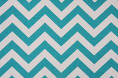 Chevron True Turquoise Table Runner by chiquiita on Etsy, $18.50