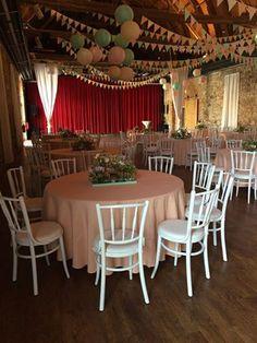 Hochzeitstuhl Bankettstuhl VICTORIA, Vintagehochzeit