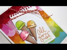 A Video by Vicky using the August 2014 card kit by Simon Says stamp for a fun card! August 2014