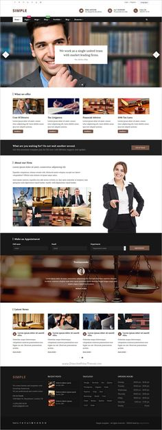 Simple is a creative, multipurpose #bootstrap template for stunning #lawyer #lawfirm website with 60+ unique Homepages layouts, 250+ Total HTML pages, Detailed elements pages, 20+ Ready Color Scheme and much more download now➩ https://wrapbootstrap.com/theme/simple-multipurpose-template-WB097M828?ref=datasata