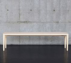 stool and bench / Nikari 2012 Dining Bench, Sofas, Entryway Tables, Stool, January, Furniture, Benches, Design, Home Decor