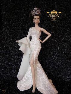 Barbie Gowns, Barbie Clothes, Dress Outfits, Fashion Dresses, Barbie Miss, Barbie Model, Glamour Dolls, Beautiful Barbie Dolls, Barbie Princess