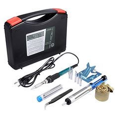 Soldering iron,Soldering iron kit,Soldering, Soldering Sponge with Violin Resin and Case Wood Burning Tool, Travel Bottles, Soldering Iron, Kit, Tools, Amazon Fr, Soldering, Instruments, Utensils