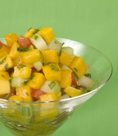 Jennifer Cornbleet ~ Mango Salsa. Homemade fruit salsa is a succulent summer treat.