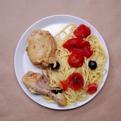 This quick and easy chicken cacciatore takes the pressure out of preparing dinner.