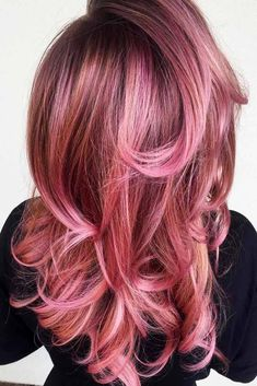 21 Breathtaking Rose Gold Hair Ideas You Will Fall in Love With Instantly ★ Saturated Rose Gold Hair Color Picture 6 ★ See more: http://glaminati.com/rose-gold-hair/ #rosegoldhair #rosegoldhairstyle