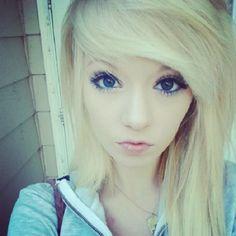 #blonde #dyed #hair #pretty