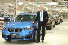 2016 #BMW X1 enters production at Chennai plant