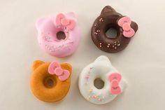 kawaii hello kitty donuts at puroland