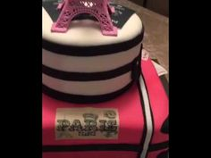 Paris Themed Cake - YouTube Theme Parties, Party Themes, Paris Themed Cakes, Cake Youtube, Make It Yourself, Sweet, Themed Parties, Candy, Paris Theme Cakes
