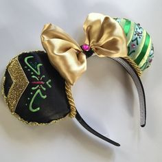 Magic Mouse Ears Anna from Frozen by MakesYouSmile101 on Etsy