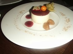 Strawberry bavrois on Alchemy Ambience collection by Churchill England Pablo Grosso catering Cadiz,Spain