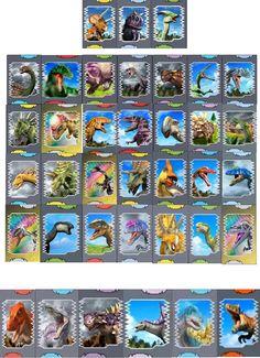 Image - CARTAS.jpg - Dinosaur King - Wikia