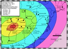 How Many Will Die in the New Madrid Earthquake?:Now, 16 years later they admit –in a 180º retraction –this whole area of the Midwest is not only active, but quakes here can have potentially catastrophic results.