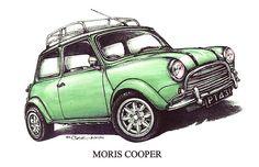 Moris Mini Cooper Car by mrclassic $3
