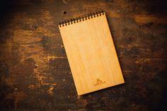 Деревянный блокнот А5 от Brevno Butcher Block Cutting Board