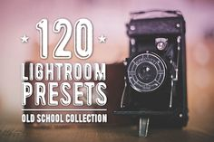 Old School Preset Collection by NUUGraphics on Creative Market
