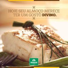 Água na boca! O peixe é uma excelente pedida para o prato desta sexta-feira, que tal? http://unimed.me/1l95AgM