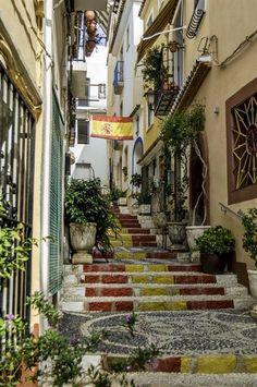 Old Town, Calpe, Spain by Steven Adams