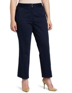 984becc7563 Jones New York Women`s Plus-Size Slim Capri Pant ♥