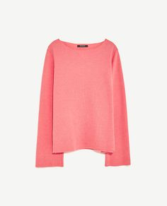 Image 8 of BELL SLEEVE SWEATER from Zara