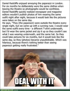 internet memes - Art of Trolling: Harry Potter and the Useless Photograph