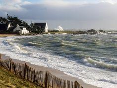 #Bretagne - #Finistere #Tregunc : Christine est passée en début de journée (5 photos) © Paul Kerrien - http://toilapol.net #BZH