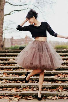 ballerina tutu skirt.