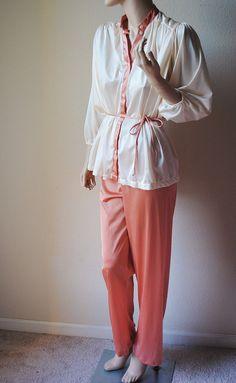 Vintage Earthtone Pajama Set  by Berkleigh by LingerieAddicts, $26.50