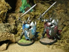 Sword And Sorcery, Knight, Image, Miniatures, Figurines, Knights, Cavalier