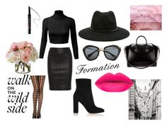 FORMATION by krisztina-holovcsak on Polyvore featuring Joseph, Gianvito Rossi, Givenchy, Forever 21, Miu Miu, Benefit, Diane James, women's clothing, women's fashion and women