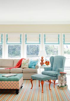 Southern Traditional - colors for sunroom?