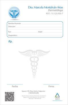 Imprenta Médica » Recetario dermatólogo 001