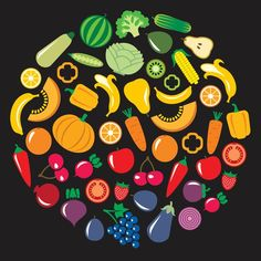 Over 90% of us don't get enough fruits and vegetables in our diets. Getting more isn't hard. Try something new each week, give a new recipe a shot. Here are some other tips. Try Something New, Eating Habits, Fruits And Vegetables, Diets, New Recipes, Improve Yourself, Healthy Eating, Eating Healthy, Fruits And Veggies