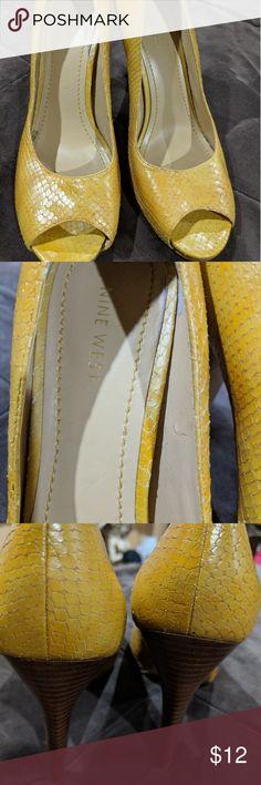 Nine West heels Faux snake skin peep toe heels Nine West Shoes Heels Peep Toe Heels, Shoes Heels, Nine West Heels, Snake Skin, Shop My, Best Deals, Closet, Shopping, Things To Sell
