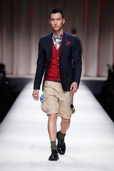 Moschino Spring 2014 Menswear