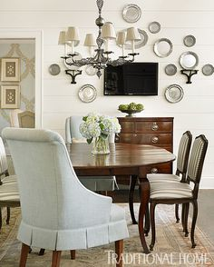 traditional-home-dining-room - Julie Blanner entertaining & design that celebrates life