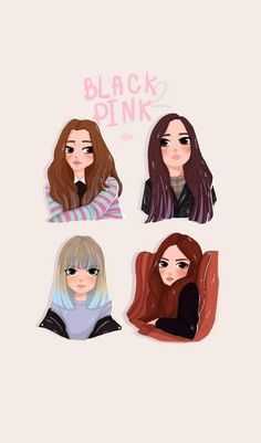 Jennie, jisoo, lisa, and rose blackpink fanart Chibi, Pochette Album, Lisa Blackpink Wallpaper, Blackpink Memes, Kpop Drawings, Drawings Of Friends, Black Pink Kpop, Pink Art, Kpop Fanart