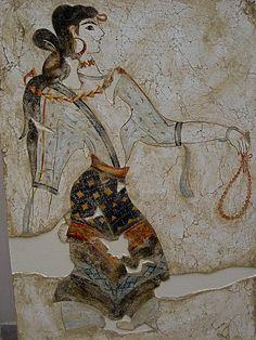 Minoan girl