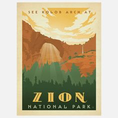 Anderson Design Group: Zion Print