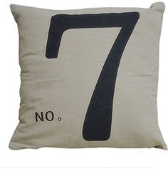 Simple Fashion Square Linen Throw Pillow Cases