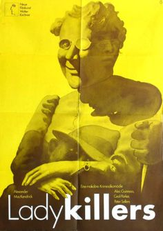 Hans Hillmann, The Ladykillers Alec Guinness Movie Posters For Sale, Original Movie Posters, Buy Posters, General Motors, Poster On, Poster Prints, Robert Bresson, Alec Guinness, Museum