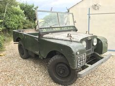 1952 Land rover series completely original For Sale Land Rovers, Jeeps, Marilyn Monroe, Landing, 4x4, Monster Trucks, Cars, The Originals, Motorbikes