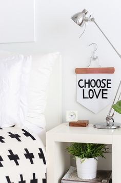 DIY No-Sew Inspirational Banner - Sugar and Cloth