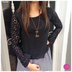 O detalhe das mangas dessa blusa é puro charme! #Vemprazas