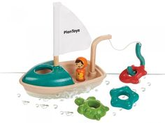 Plan Toys Activity Boat--or other wooden bath toys Water Play Toys, Plan Toys, Eco Friendly Toys, Wooden Animals, Bath Toys, Imaginative Play, Boat Plans, Wooden Boats, Wood Toys